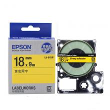 爱普生(EPSON)LK-5YBP 标签机色带 18mm 黄底黑字 (LW-K400L/LW-600P/LW-700/LW-1000P/LW-Z700/LW-Z900)