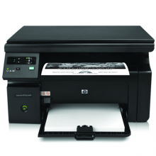 惠普(HP)M1136 多功能三合一黑白激光一体机 (打印 复印 扫描) 升级型号136a/136w/136nw