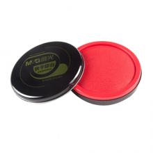 晨光(M&G)文具红色财务专用快干印台 85mm圆形透明快干印泥印台 单个装AYZ97519
