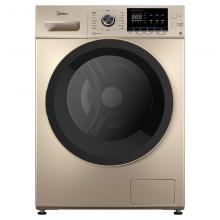 美的 (Midea)洗衣机全自动滚筒洗衣机 10公斤kg 单洗MG100-1451WDY-G21G