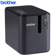 兄弟标签机PT-P900固定资产条码铭牌线缆标识标签打印机