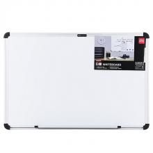 得力7852单面磁性白板 40*60cm 书写白板 可悬挂 会议展板