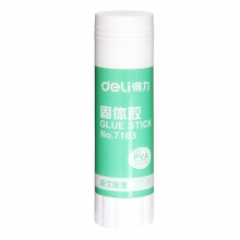 得力(deli) 7103 PVA材质固体胶水/胶棒36g 12只/盒