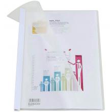 齐心(Comix)  A4抽杆夹/文件夹/报告夹/拉杆夹 Q310-1 白色 办公文具