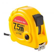 齐心(COMIX) 钢卷尺双面刻度尺子测量工具包邮 3/5/7.5米L17507.5米