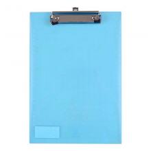 富得快(FUDEKUAI)A5/B5/ A4写字板夹文件夹板 加厚垫板学生塑料记事板 A4竖款 颜色随机HY6103 单个售价