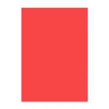 传美 A4 大红色彩色复印纸 80g 100张/包 单包装