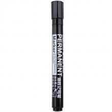 得力(deli) 大头水笔记号笔物流写字专用油性粗笔 单支 黑色S550
