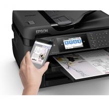 爱普生(EPSON)WF-7728 A4/A3+ 无线彩色喷墨商务办公多功能一体机 打印/复印/扫描/传真 自动双打 双纸盒
