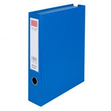 晨光 M&G ADM95393B 晨光55mm磁扣式PVC包胶档案盒ADM95393蓝