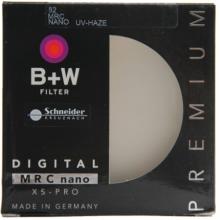 B+W uv镜 滤镜 82mm UV镜  MRC NANO XS-PRO 超薄多层纳米镀膜UV镜 保护镜