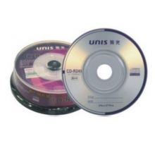 UNIS紫光 刻录盘 直径8厘米 CD /DVD 10片 空白光盘  1盒装 紫光8厘米小光盘 CD10张一盒 单张