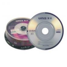 UNIS紫光 刻录盘 直径8厘米 CD /DVD 10片 空白光盘  1盒装 紫光8厘米小光盘 CD10张一盒