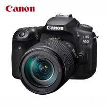 佳能(Canon)EOS 90D 单反相机 单反机身(3250万有效像素 双核CMOS 双核CMOS 45点十字对焦 WIFI)