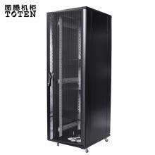 图腾(TOTEN) G36042 网络机柜 42U加厚机柜 带风扇 托盘3块 PDU1个 螺丝40套
