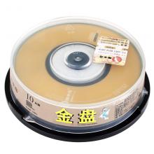 啄木鸟 CD-R 8CM 小盘 24速 210M 3寸小盘 桶装10片 刻录盘 单片