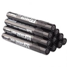 广博(GuangBo)黑色速干油性记号笔 物流大头笔 10支装JH8821D