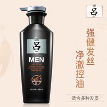 吕(Ryo)男士参澈控油洗发水400ml 男士控油