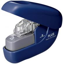 PLUS普乐士 无针订书器106NB 便携无针订书器 蓝色(可装订6张)