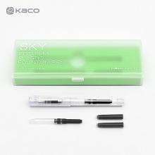KACO SKY百锋钢笔 可换墨囊 透明色 EF尖