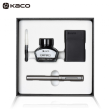 KACO 百锋金属钢笔套装EF尖  灰色