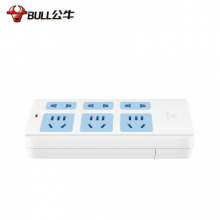 GN-102 公牛插座插排不带线正品插板排插无线电插板1/2/3/4孔插位接线板