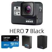 Gopro hero7 暮光白 black高清4K运动相机防抖防水户外骑行可触屏vlog摄像机 Hero 7