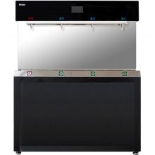 海尔(Haier)商用净水器纯水机 立式反渗透即热式饮水机 冷热型商务办公加热净饮机直饮机 HZR400-4W一开三温开水