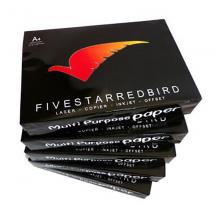 五星红鸟 A5/80g 复印纸 黑包装 500张/包 5包/箱