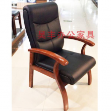 昊丰HF-2058橡木会议椅