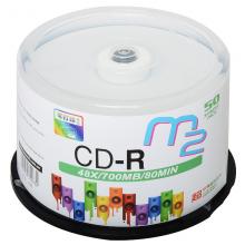 麦克赛尔(maxell)CD-R光盘   M2系列48速700M 桶装50片