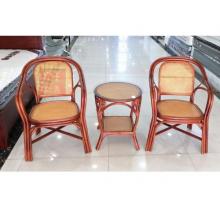 昊丰HF-C037藤椅1+3三件套