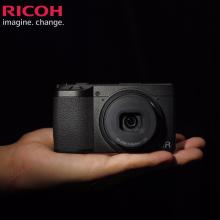 理光(RICOH)APS-C画幅 GRIII大底便携卡片机 数码相机  标配 GR3+ GC-9 专用包
