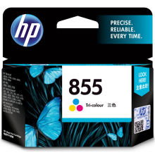 惠普(HP)C8766ZZ 855号彩色墨盒 (适用Photosmart B8338 9808K7108)