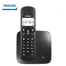 飞利浦(PHILIPS)无绳电话机  持久待机 DCTG186黑色