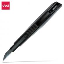 得力(deli) 小号30°黑刀刃锌合金 壁纸刀  2037S