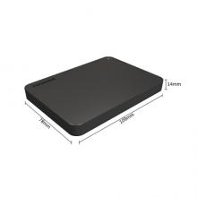 东芝(TOSHIBA) 1TB 移动硬盘 新小黑A3 USB3.0 2.5英寸  HDTB410YK3AA