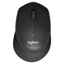 罗技(Logitech)M330 无线静音鼠标 舒适曲线 黑色 M275升级版