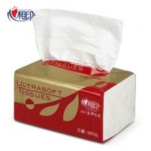 心相印 抽紙整箱紅悅系列3層塑裝紙無香面巾箱裝 DT37130(3層*130抽*6包)