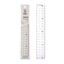 晨光(M&G)文具优品系列20cm亚克力直尺学生绘图制图刻度尺子 单把装ARL96267