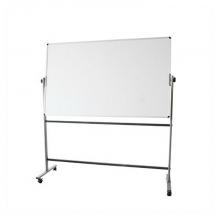 得力 7884 H型雙面白板 900x1800mm (單位:塊) 銀灰