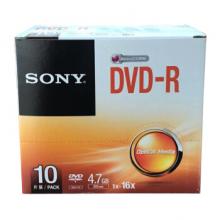 办公用品_网上威尼斯人下载_威尼斯人游戏app_威尼斯人现金注册索尼(SONY)DVD-R 光盘/刻录盘 16速4.7G 单片盒装10片/包 空白光盘