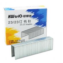 可得优(KW-triO) 镀锌丝订书钉 订书针 1000枚/盒 23/23