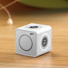 绿巨能计时器 时间小方JS-01 白色