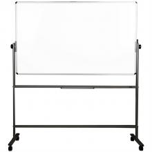得力 7883 H型双面白板 900x1500mm (单位:块) 银灰