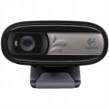 羅技 C170 攝像頭 像素:500w(單位:個) 黑色