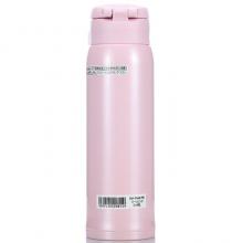 象印保温保冷杯 480ml不锈钢真空户外防漏弹盖直饮水杯子 SM-SA48-PB