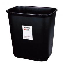 得力9562方形清洁桶 垃圾桶(黑)(只)