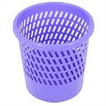 得力 9553 圆形字纸篓 直径26cm (单位:只) 紫