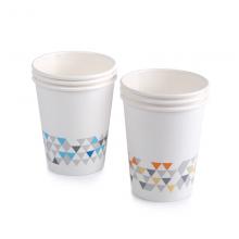 晨光纸杯加厚型9盎司(50pcs混色)ARC92513
